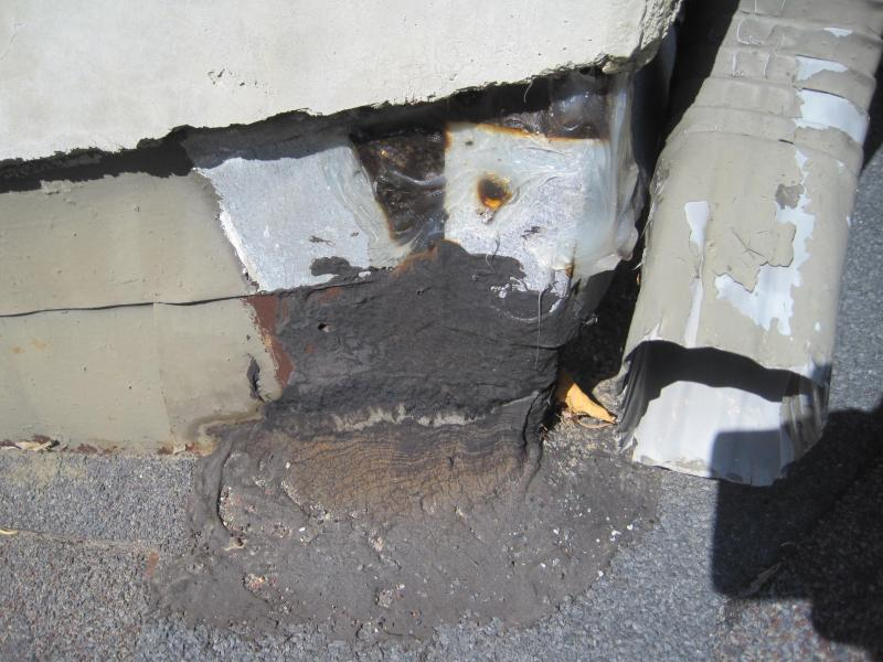 Los Angeles Home Inspection - Substandard flashing